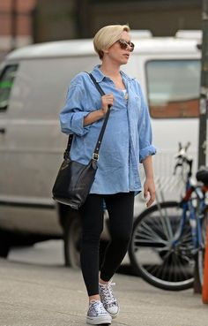 Scarlett Johansson Style the bump: celebrity maternity style inspiration Yummy Blog Maternity Shop