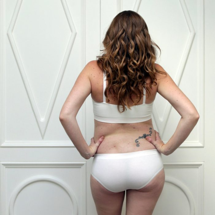 The Bamboo Knickers White Yummy Maternity Shop