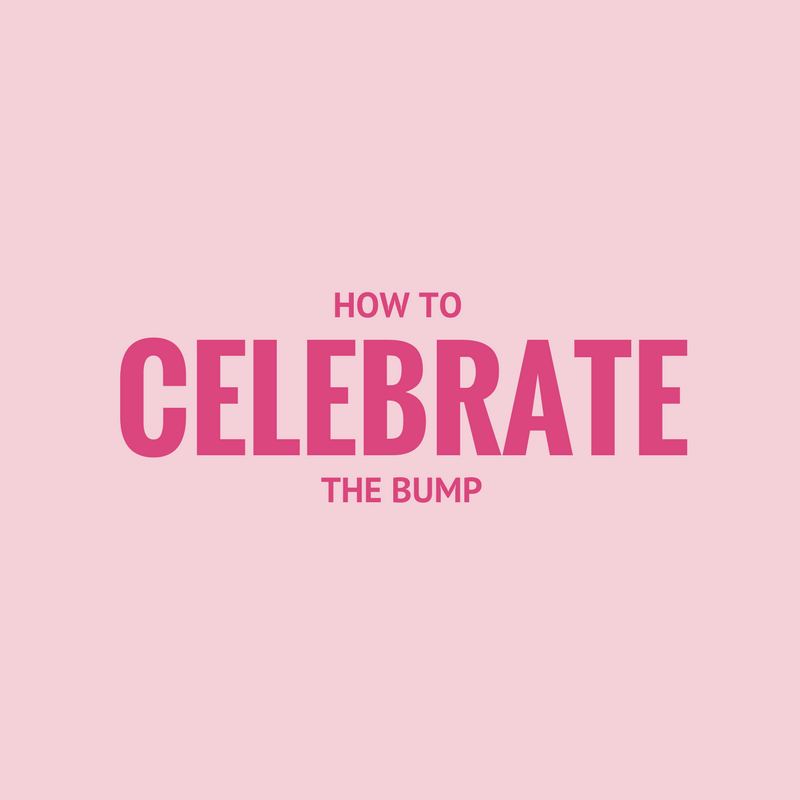 how to celebrate the bump yummy maternity